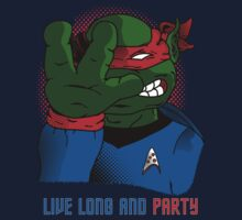 Live Long and Party! - Red by BanzaiDesigns