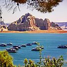 Wahweap Moorings - Lake Powell Arizona USA by TonyCrehan