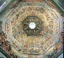 Brunelleschi's dome by Beth Caird