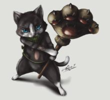 Monster Hunter : Merarou cat by NZwolf