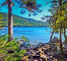 Jordan Pond II by vivsworld