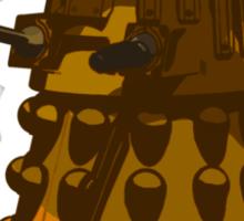 Funky Camo Sneaky Dalek Sticker