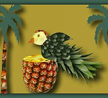 ❤ 。◕‿◕。 MY DESIGNED PINEAPPLE BIRD AND PALM TREES❤ 。◕‿◕。  by ╰⊰✿ℒᵒᶹᵉ Bonita✿⊱╮ Lalonde✿⊱╮