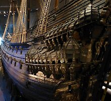 The Vasa Military Ship Stockholm by SoulSparrow