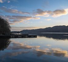 Evening on Lake Windermere by Nick Jenkins