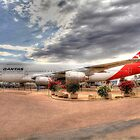 Qantas  by mark bilham