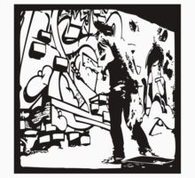 Graffiti Black & White by Maestro Hazer
