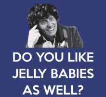 TOM BAKER JELLY BABIES by tardisbabes