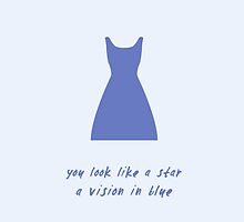 Vision In Blue by newyorkshows