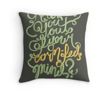 Are you out of your corn-fed mind? Throw Pillow
