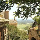 Looking out from Gordes by Mandy Gwan