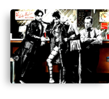 Sin City Starring Canvas Print