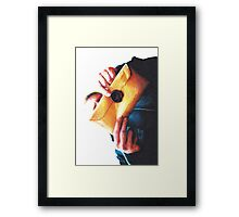 The Same Envelope Framed Print