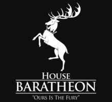 House Baratheon (Black) by innercoma