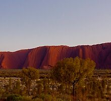 Sunrise on Uluru and Kata Tjuta by Trudi Skinn