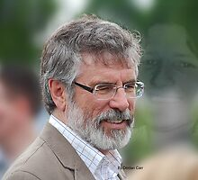 Gerry Adams Bobby Sands by Declan Carr