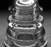 Hemingray Number 45 Glass Insulator by Mark  Reep