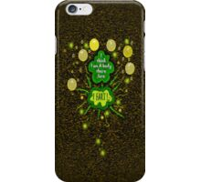 I think I am a body... therefore... iPhone Case/Skin