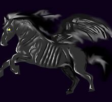 Thestral by slaterkerry