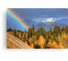 Fall for Rainbows Canvas Print