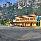 Old train station in Riva del Garda by Martina Fagan