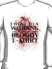 Game of Thrones - Red Wedding T-shirt T-Shirt