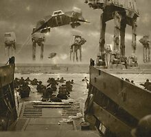 Beach landing Hoth by David McClure