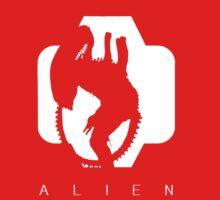 Alien Silhouette  Kids Clothes