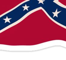 In Redneck We Trust Rebel Flag Sticker
