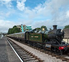 Paignton to Dartmouth Steam Engine at Goodrington by Nick Jenkins