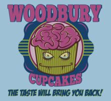 Walking Dead Inspired - Woodbury Cupcakes - Zombie Cupcakes - Taste that Brings You Back - Zombie Apocalypse Kids Clothes