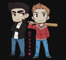 Sterek sticker by hellredsky