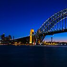 Sydney Skyline Panorama by Michael Clarke