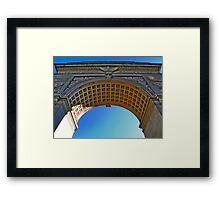 NYC - Washington Square Park Arch Framed Print