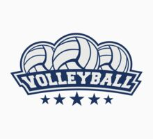 Volleyball Sport Logo by Style-O-Mat