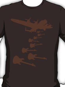 The Guitar Bomber T-Shirt