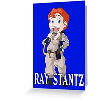 Ray Stantz (The Real Ghostbusters) Greeting Card