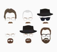 Walter White / Heisenberg (The Many Faces) - Breaking Bad by Posteritty