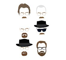 Walter White / Heisenberg (The Many Faces) - Breaking Bad 3 by Posteritty