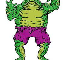 Frog Hulk by ZugArt