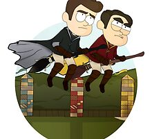 Klaine Hogwarts by Laura King