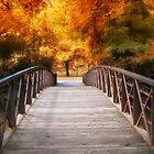 Autumn Footbridge by Jessica Jenney
