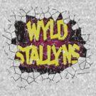 Vintage Wyld Stallyns Wall Smash Tee by kaptainmyke