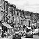 Dale Road - Matlock | B&W by Sarah Couzens