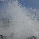 Sea Waves Closer by Harsha Bhuyan