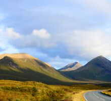 Cuillin Mountains Panorama by Chris Thaxter