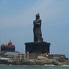 Thiruvalluvar Statue and Vivekananda Rock Memorial by Harsha Bhuyan