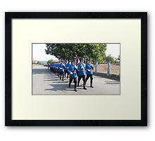Serbian Elite Guard Framed Print