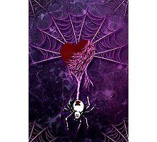 Black Widow (Purple) Photographic Print