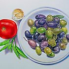 Olive Plate by joeyartist